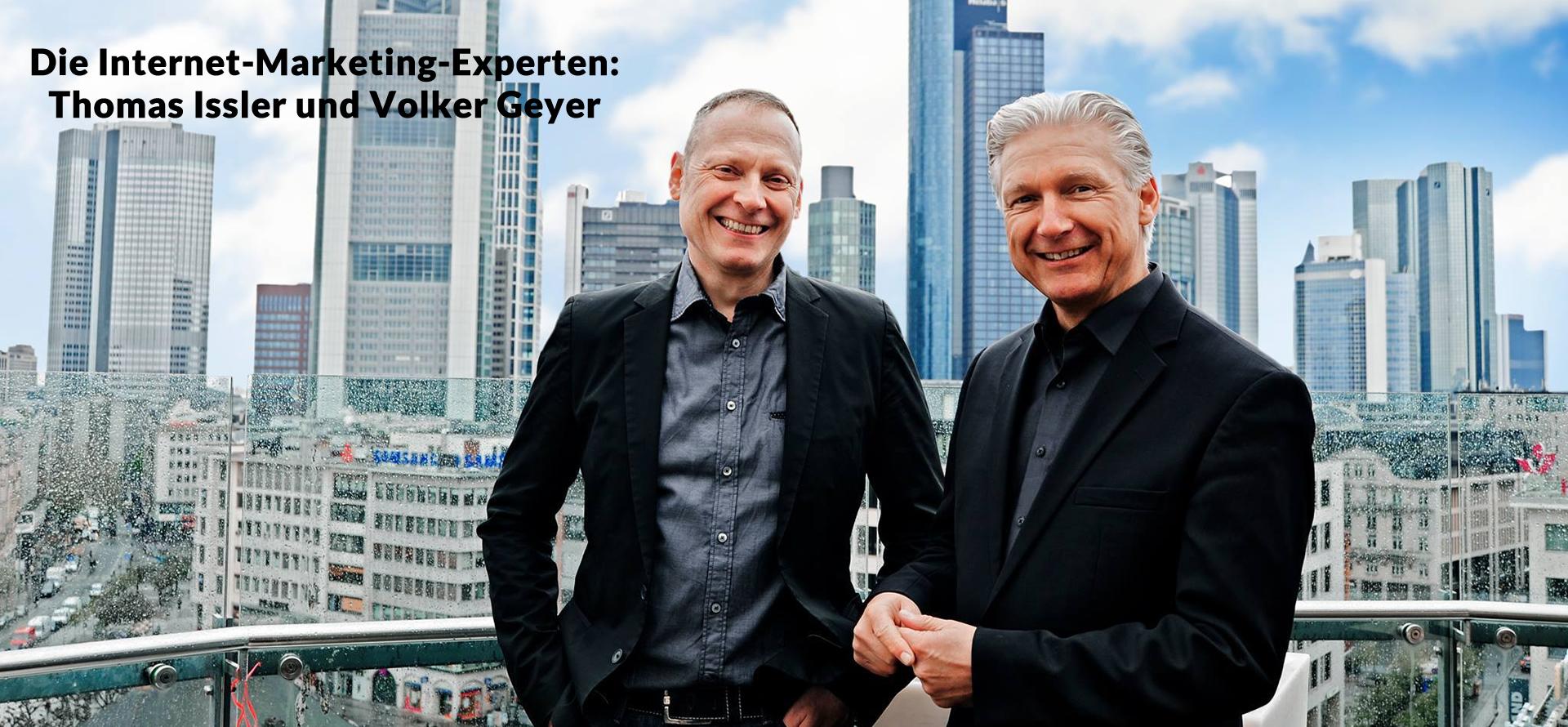 Volker Geyer und Thomas Issler