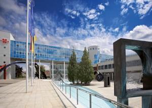 Campus der Adolf Würth GmbH & Co. KG in Künzelsau-Gaisbach