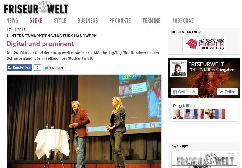 Friseur Welt - Online Magazin