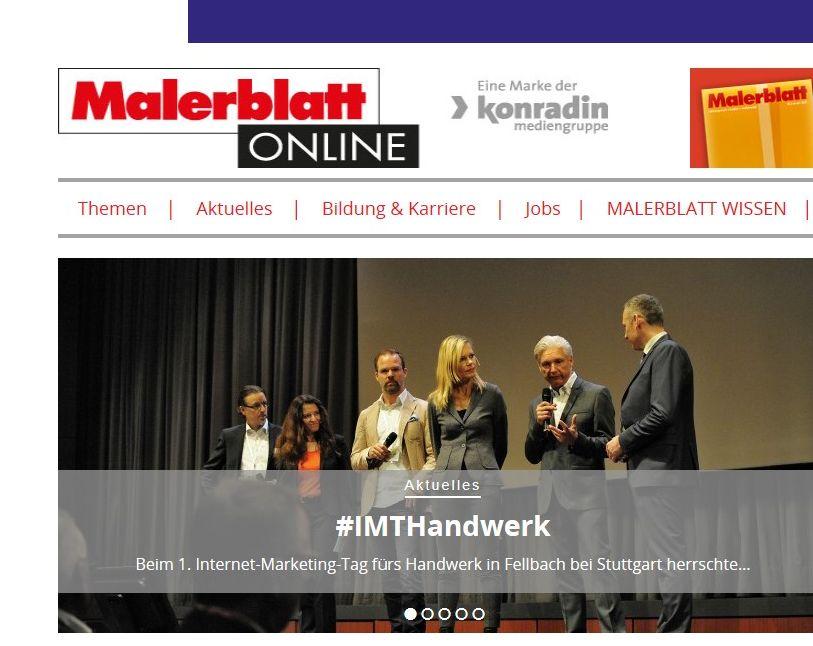 Malerblatt Online - Fachmagazin