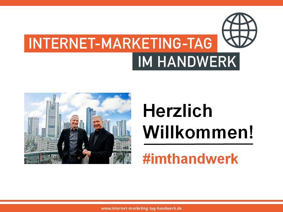 Internet-Marketing-Tag im Handwerk