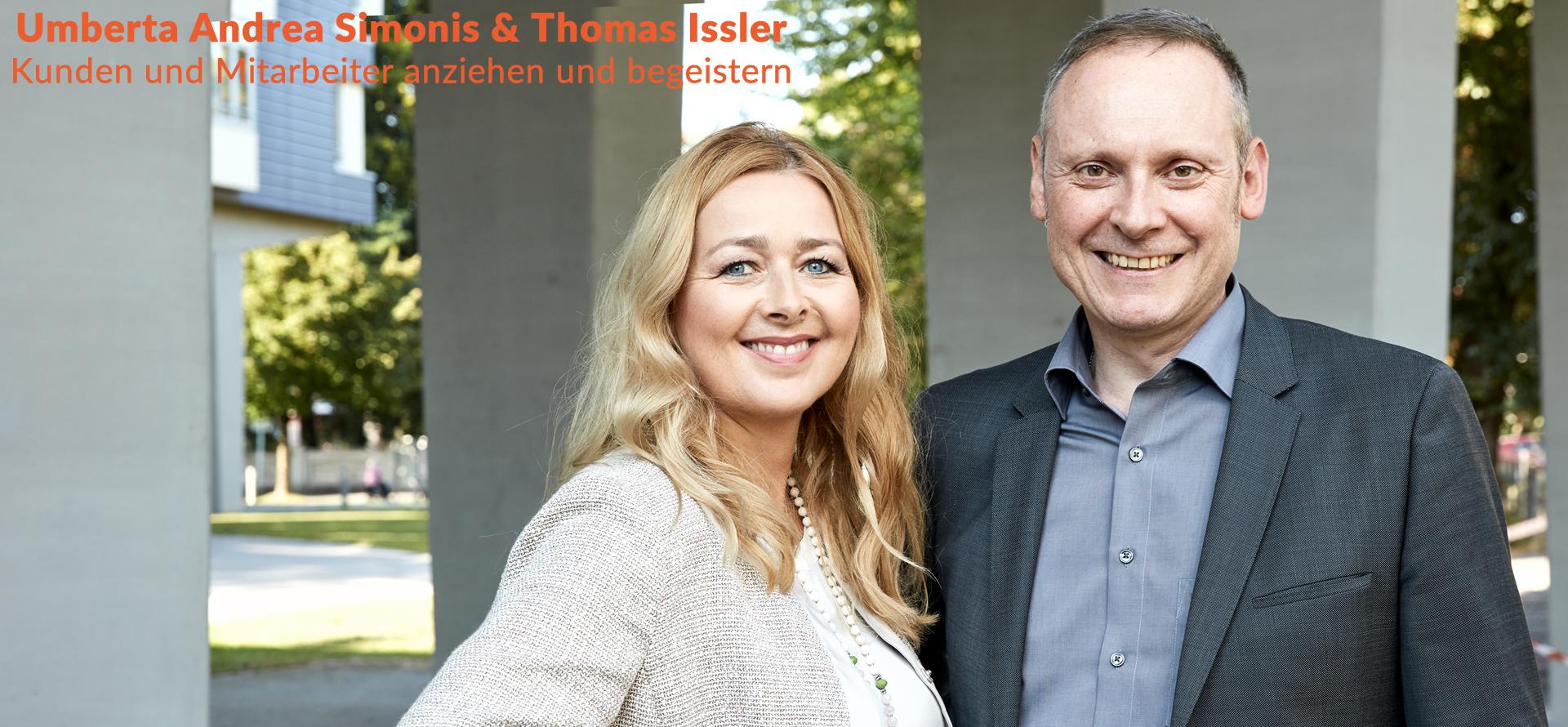Umberta Andrea Simonis und Thomas Issler
